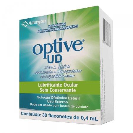 Optive UD 30 Flaconetes Com 0,4ml