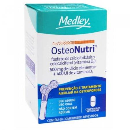 Osteonutri 600mg + 400UI com 60 comprimidos