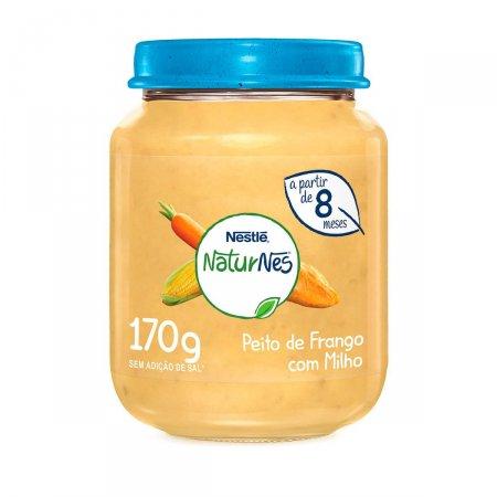 Papinha Nestlé Naturnes Creme Milho, Cenoura, Peito Frango 170g
