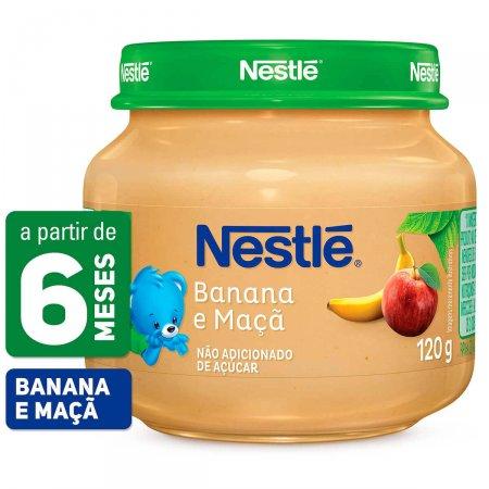 Papinha Nestlé de Banana e Maçã