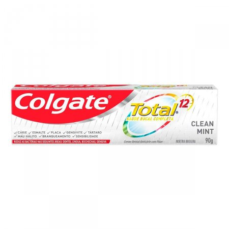 Pasta de Dente Colgate Total 12 Clean Mint com 90g
