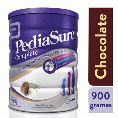 Suplemento Alimentar Pediasure Complete Sabor Chocolate com 900g