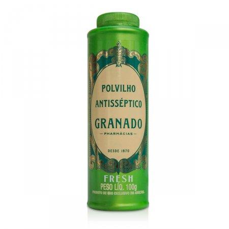 Talco Antisséptico Polvilho Granado Fresh 100g