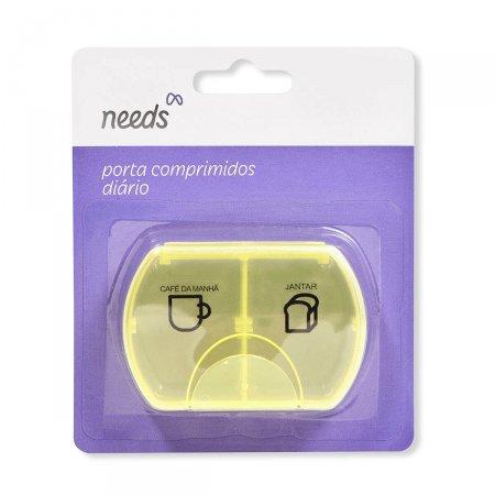 Porta Comprimidos Arredondado Needs 1 Unidade | Onofre.com Foto 1