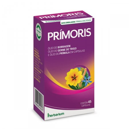 Suplemento Alimentar Prímoris com 45 cápsulas