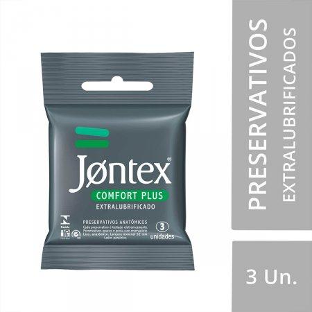 Preservativo Jontex Comfort Plus 3 Unidades