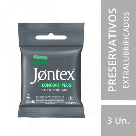 Preservativo Jontex Comfort Plus