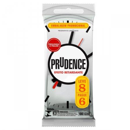 Preservativo Lubrificado Prudence Efeito Retardante