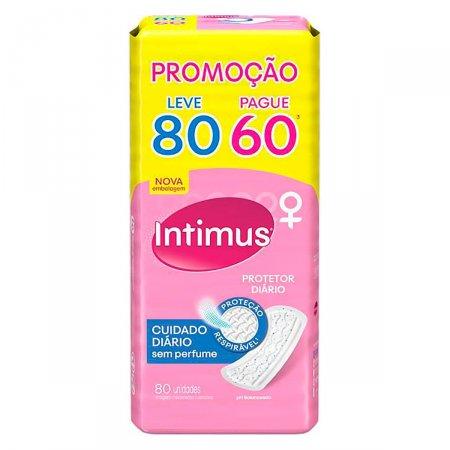 Protetor Diário Intimus Cuidado Diário sem Perfume