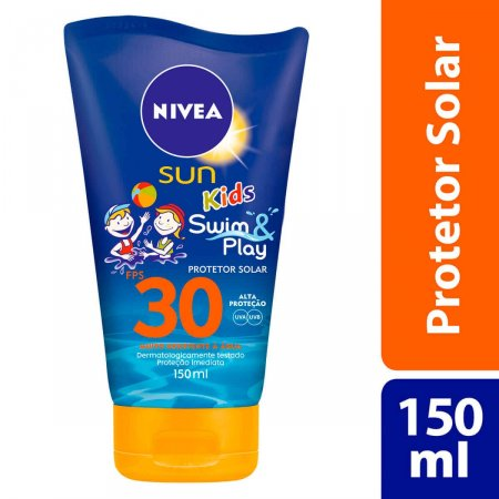 Protetor Solar Corporal Nivea Sun Kids Swin & Play FPS30