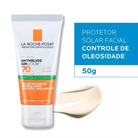 Protetor Solar La Roche-Posay Anthelios Airlicium FPS 70 Facial Antioleosidade com 50g