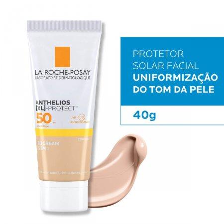 Protetor Solar Facial Anthelios BB Cream 5 em 1 Cor Universal FPS50