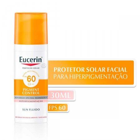 Protetor Solar Facial Eucerin Pigment Control FPS60 com 50ml