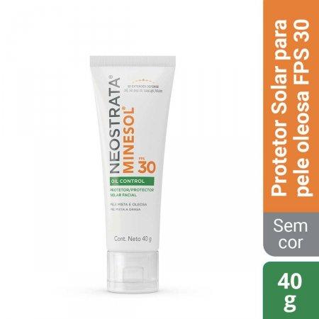 Protetor Solar Facial NeoStrata Minesol Oil Control Pele Oleosa FPS 30 com 40g