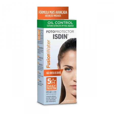 Protetor Solar Isdin Fusion Water Oil Control FPS60 50ml |