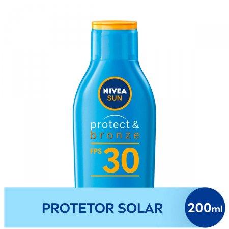 Protetor Solar Nivea Sun Protect & Bronze FPS 30 com 200ml