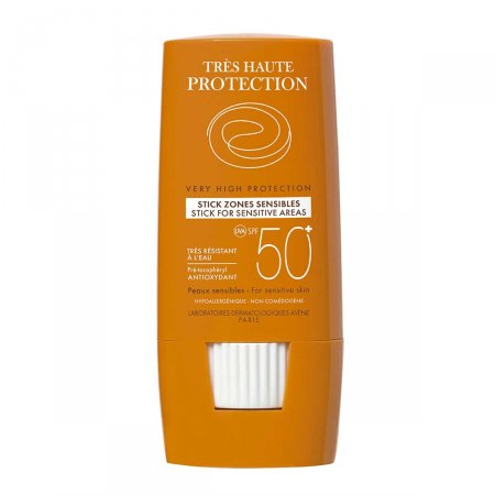 Protetor Solar Stick Avène Áreas Sensíveis FPS50+