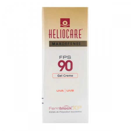 Protetor Solar Facial Heliocare Max Defense Gel Creme FPS90 50g