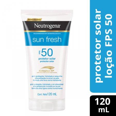 Protetor Solar Neutrogena Sun Fresh FPS50