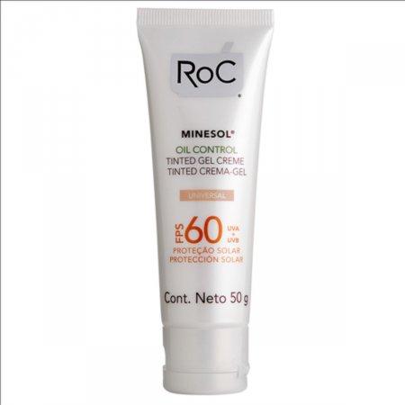 Protetor Solar Roc Minesol Oil Control FPS 60 Gel Creme com 50g