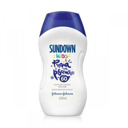 Protetor Solar Sundown Kids Praia e Piscina FPS60