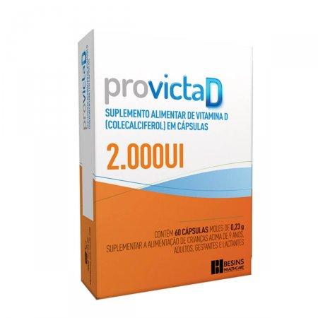 Provicta D 2.000UI 60 Cápsulas | Onofre.com Foto1