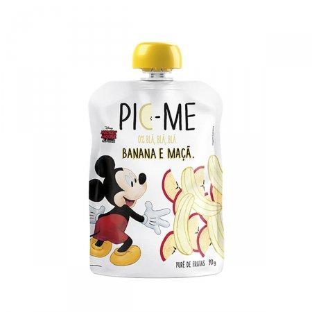 Purê de Fruta Pic-Me Disney Sabor Banana e Maçã