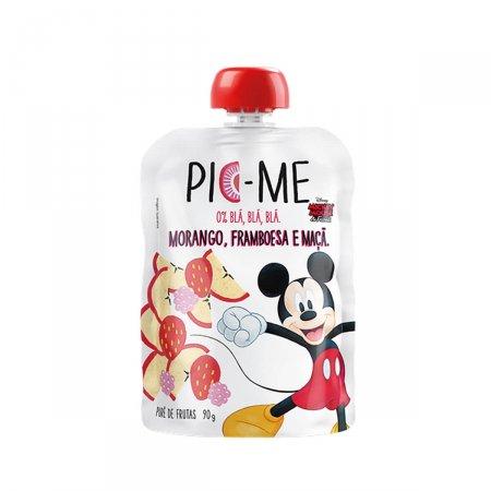 Purê de Fruta Pic-Me Disney Sabor Morango, Framboesa e Maçã