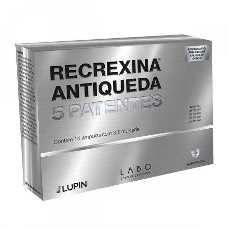 Recrexina Antiqueda 5 Patentes com 14 Ampolas de 3,5ml cada |