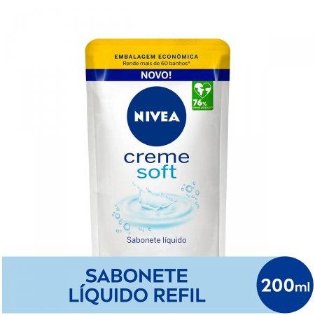 Refil Sabonete Líquido Nivea Creme Soft