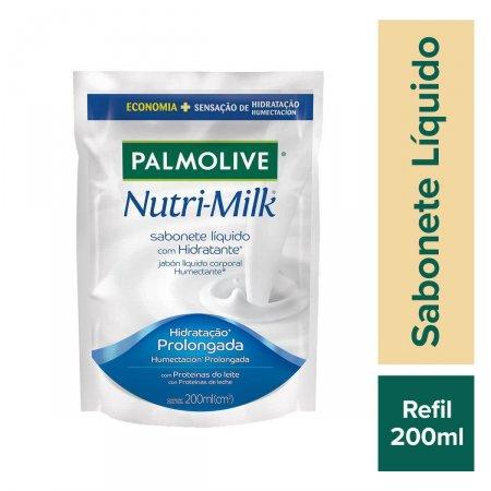 Refil Sabonete Líquido Palmolive Nutri-Milk Hidratante 200ml Foto 2