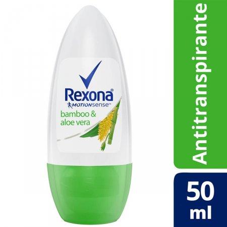 Desodorante Antitranspirante Roll-On Rexona Bamboo & Aloe Vera