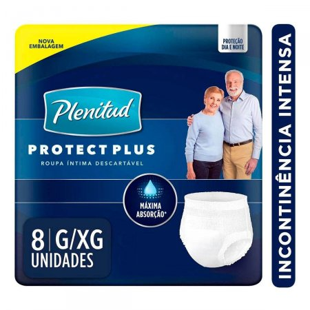 Roupa Íntima Plenitud Protect Plus Tamanho G/XG