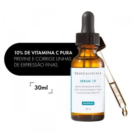Sérum 10 Facial SkinCeuticals Antioxidante com 30ml