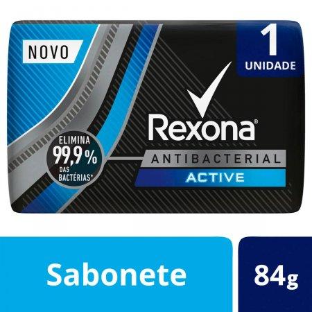 Sabonete em Barra Rexona Men Antibacterial Active