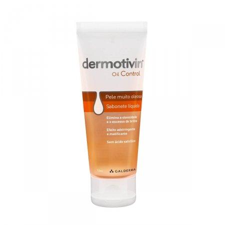 Sabonete Líquido Facial Dermotivin Oil Control Pele Oleosa com 70ml
