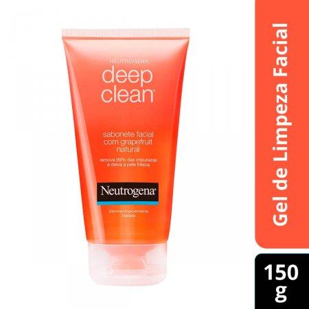Sabonete Líquido Facial Neutrogena Deep Clean Grapefruit com 150g