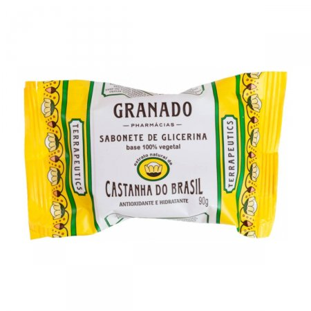 Sabonete em Barra Granado Terrapeutics Castanha do Brasil