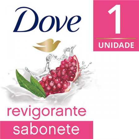 Sabonete em barra Dove Revigorante Go Fresh Romã e Verbena 90g