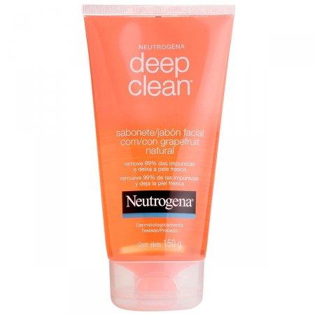 Sabonete Líquido Facial Neutrogena Deep Clean Grapefruit