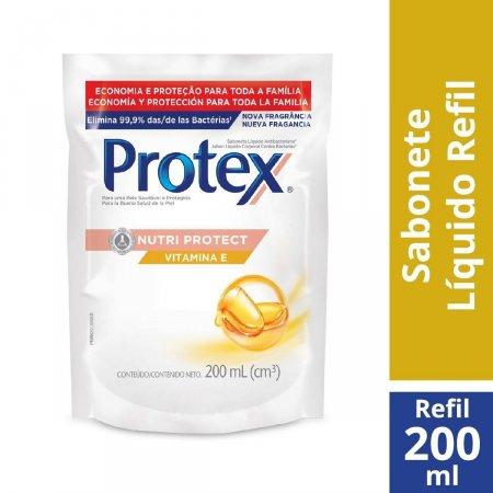 Refil Sabonete Líquido Corporal Protex Vitamina E