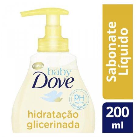 Sabonete Líquido Baby Dove da Cabeça aos Pés Hidratação Glicerinada