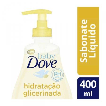Sabonete Líquido Dove Baby Hidratação Glicerinada com 400ml