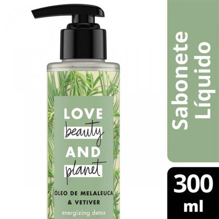 Sabonete Líquido Mãos e Corpo Love, Beauty And Planet Energizing Detox