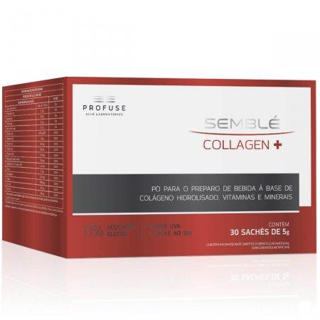 Suplemento Alimentar Semblé Collagen+ com 30 sachês de 5g