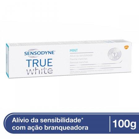 Creme Dental Sensodyne True White Mint 100g