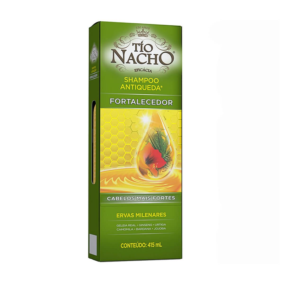 Shampoo Antiqueda Tio Nacho Fortalecedor Ervas Milenares com 415ml 415ml