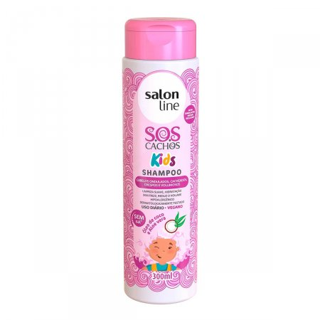 Shampoo Salon Line S.O.S. Cachos Kids