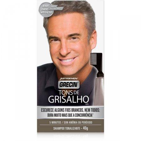 Shampoo Colorante Grecin Tons De Grisalho