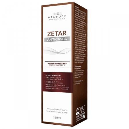 Shampoo Anticaspa Profuse Zetar Intensivo com 150ml